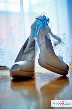 Buty Ślubne Białe KOTYL r. 36 23cm