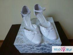 Buty ślubne, firmy kotyl OKAZJA !! NATURALNA SKÓRA !