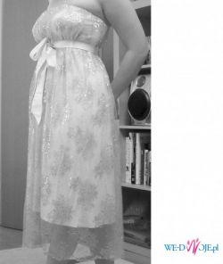Ciazowa sukienka slubna