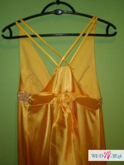 ciążowa suknia na wesele