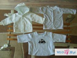 Ciuszki niemowlęce, od O do 3 miesięcy