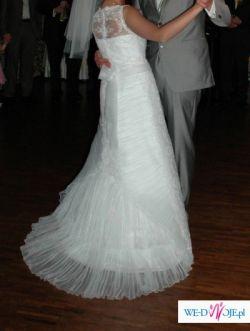 831e444a26 CLASSA C418- najpiękniejsza suknia ślubna z koronką