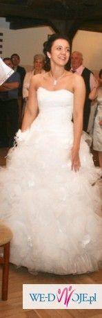 Coś innego, coś stylowego -piękna suknia ślubna