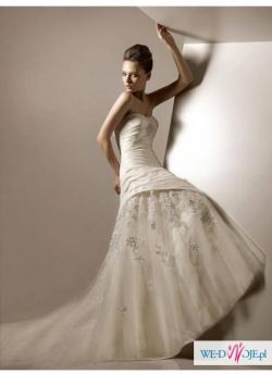 Cudna suknia ślubna*2011*Oryginał*Tren*Gratisy