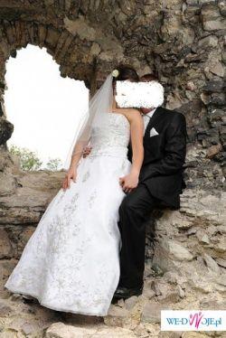 Cudna suknia slubna ASPERA - PRELUDIUM , OKAZJA!