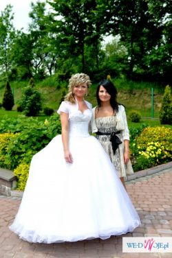 Cudna suknia ślubna demetrios 896 r.36-38