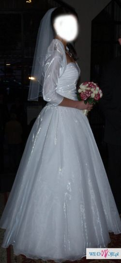 Cudna suknia ślubna, rozmiar 38