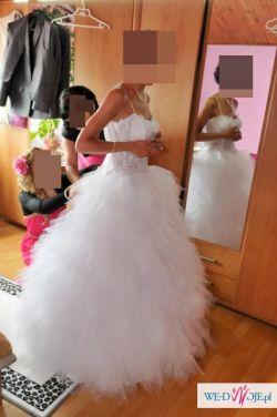 Cudna suknia ślubna ! TANIO ! princesska !