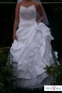 cudna suknia ślubna z kolekcji 2009