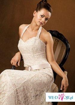 cudna suknia TAZALIN Mocca z salonu Tylko Ona