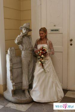Cudowana suknia ślubna