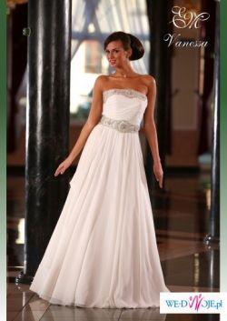 cudowna EMMI MARIAGE model VENUS złamana biel PRZEPIĘKNA!!!!