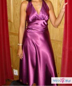 CUDOWNA sukienka różowa rozmiar S