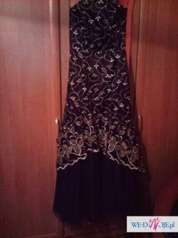 cudowna suknia na elegancką impreze