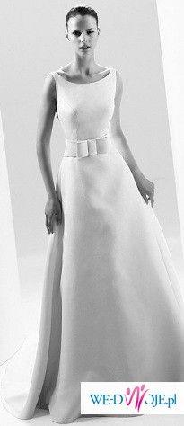 Cudowna suknia ślubna Canada Manuel Mota