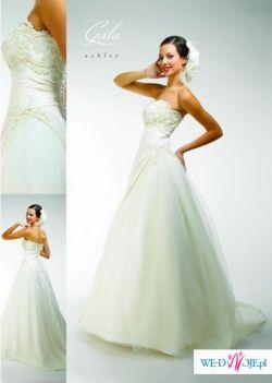Cudowna suknia ślubna firmy Gala