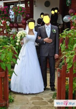 Cudowna Suknia Ślubna- GINA