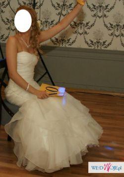 Cudowna suknia ślubna hiszpańskiej firmy La Sposa