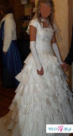 Cudowna suknia ślubna Karina