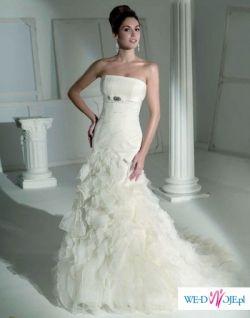 Cudowna Suknia Ślubna kolekcja 2009 Fara Sposa 5400 rozm 36-38