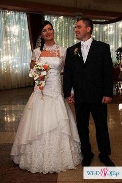cudowna suknia ślubna na sprzedaż