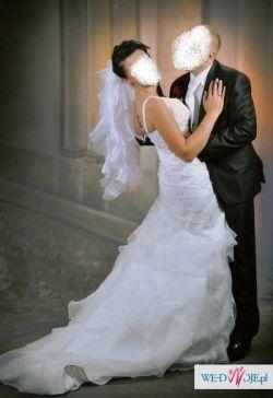 Cudowna Suknia Ślubna Papa Michel Kolekcja divino Model Fides