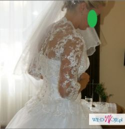 Cudowna suknia ślubna PRINCESSA!!!!