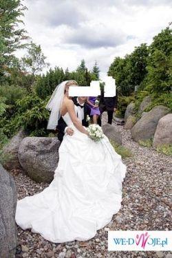 Cudowna suknia ślubna Sincerity 3323   OKAZJA !