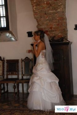 Cudowna suknia śubna FARAGE GALAXY :)