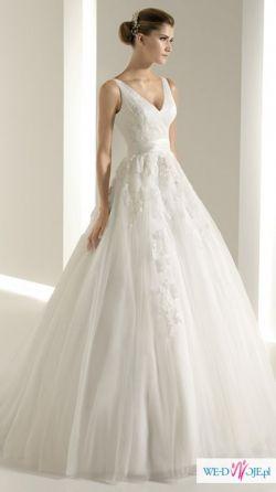 Cudowna suknia White One 6228 - TANIO!!!