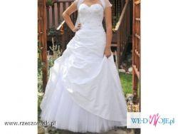 Cudowna suknie ślubna:P OKAZJA