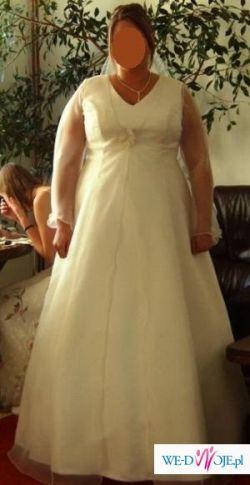 Cudownie wyszczuplająca suknia (r. 48/50)