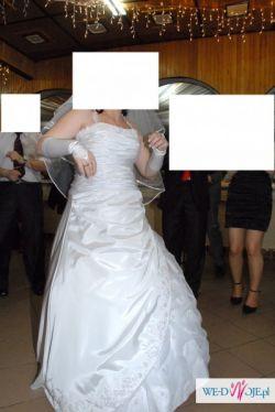 Cudowniutka suknia ślubna