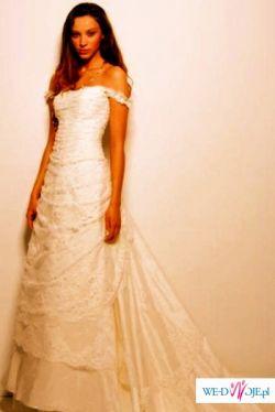 Cymbeline Amboise 2007- NOWA, piękna suknia ślubna. OKAZJA!