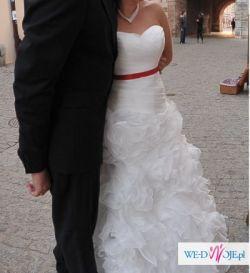 Cymbeline suknia ślubna OKAZJA 36 38 jak nowa