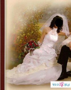 czarujaca i zmyslowa suknia slubna dla kobiety ceniacej elegancje, cena ok 1199