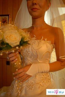 Czy chcesz zostać księżniczką???!!! Zjawiskowa suknia ślubna w atrakcyjnej cenie