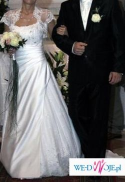 DARAKA - piękna biała suknia ślubna