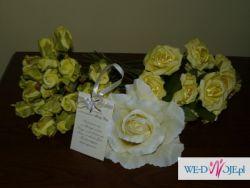 Dekoracje ślubne - kwiaty, zawieszki