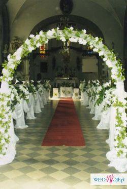 Dekoracje ślubne Sal Kościołów I Samochodów Dekoracje Weselne