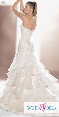 Delikata suknia ślubna Atelier Daigonal 1831