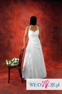 delikatna i elegancka suknia ślubna własnego projektu