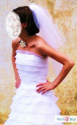 Delikatna i subtelna suknie ślubna !!