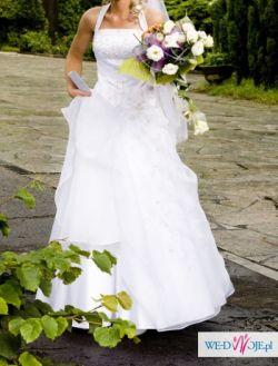 """Delikatna, piękna suknia ślubna """"KAROLINA"""""""