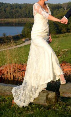 Delikatna, romantyczna SUKIENKA z włoskiej koronki MAGGIO RAMATTI