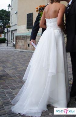 Delikatna suknia ślubna Cymbeline