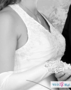 Delikatna suknia ślubna roz. 38