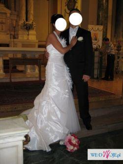 DEMETRIOS zjawiskowa Suknia Ślubna r. 40