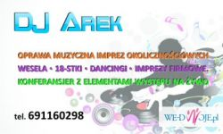 Dj Arek - Konin, wesele, doświadczenie