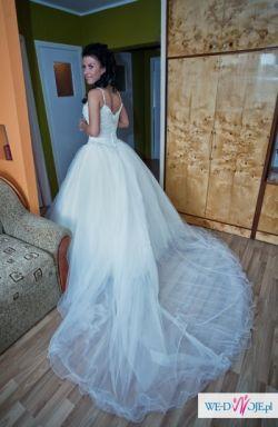 dla księżniczki suknia ślubna !!!POLECAM